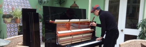 A German Piano Tuner in Ireland